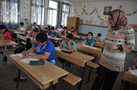 المدرسة الابتدائي في الجزائر